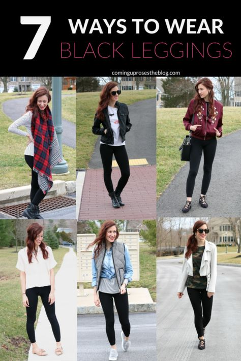 What to Wear with Leggings: 7 Ideas