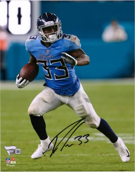 super popular 866f5 53083 Dion Lewis Tennessee Titans Autographed 8