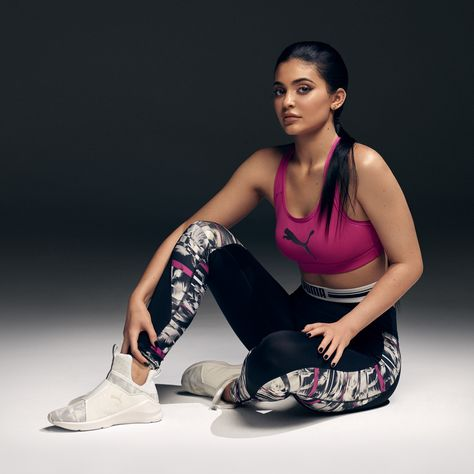 Stronger with every move. Kylie Jenner