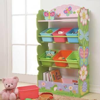 Magic Garden Wooden Toy Storage Bench In 2020 Toy Organization Toy Storage Bench Childrens Toy Storage