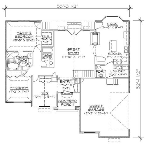 Habitations 1672 Add 3rd Car And Bonus Professional House Floor