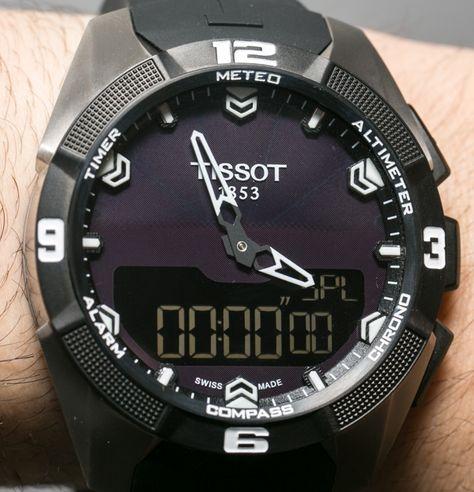 Tissot T Touch Expert Solar Watch Hands On Exclusive Ablogtowatch Tissot T Touch Tissot Watches For Men