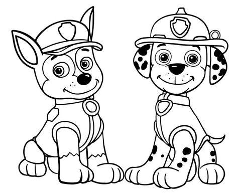 Desenhos De Patrulha Canina Para Imprimir E Colorir Patrulha