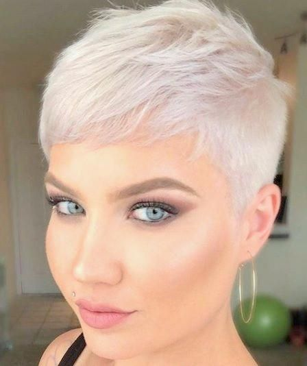 Short Pixie Hairstyles For Fine Thin Hair Hairstyles Pixie Short Shorthairstyles Thin Fine Hair Short Thin Hair Short Hair Styles Pixie