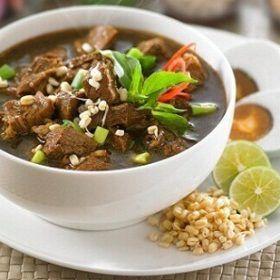 Resep Cara Membuat Rawon Daging Asli Yang Enak Dan Lezat Lengkap Dengan Bumbu Selerasa Com Resep Resep Masakan Resep Makanan Resep