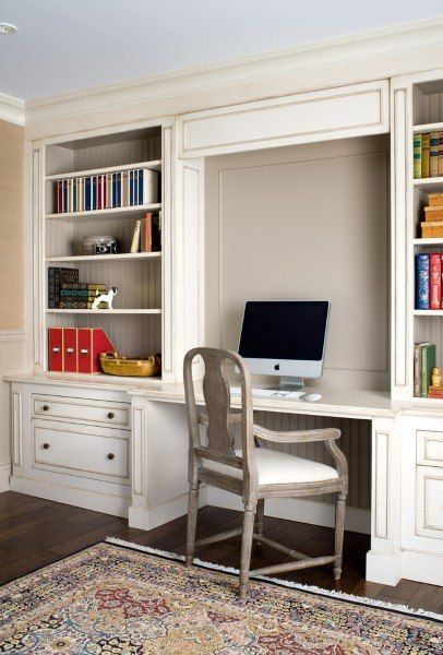 Top 50 Best Built In Desk Ideas Cool Work Space Designs Home Office Design Desk In Living Room Built In Desk