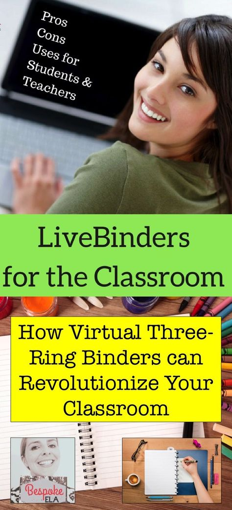 LiveBinders in the Classroom — Bespoke ELA:  Essay Writing Tips + Lesson Plans