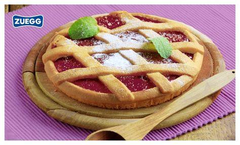 Un classico #senzatempo! :-) Crostata con confettura di fragole #Zuegg!