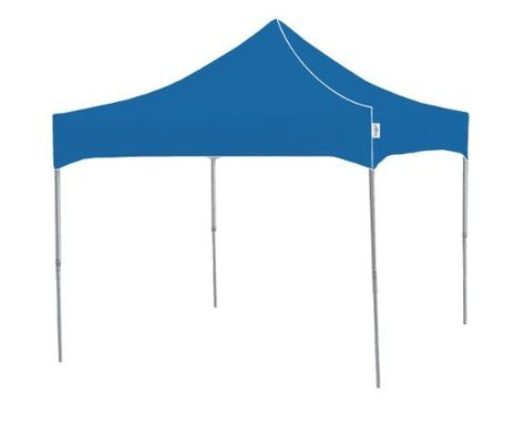 Kd Partyshade Pf100b 10 Foot By 10 Foot Heavy Duty Steel Frame One Piece Pop Up Indoor Outdoor Portable Canopy Portable Canopy Garden Canopy Canopy