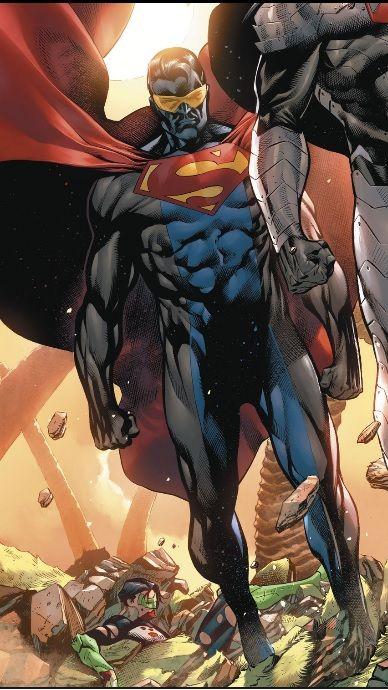 erradicador   Reign of the Supermen   Superhero, Dc heroes