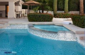 Alpentile Glass Mosaic Swimming Pool Designs In 2020 Swimming