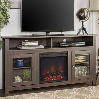 Zipcode Design Kohn Tv Stand For Tvs Up To 65 With Fireplace
