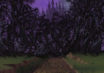 Wall Of Thorns And Vines In Sleeping Beauty Google Search