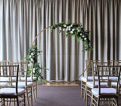 180 Gold Round Mesh Wedding Arbour Other Wedding Parties Gumtree Australia Brimbank Area Sunshine 12100 Lilac Wedding Bouquet Wedding Arbour Wedding