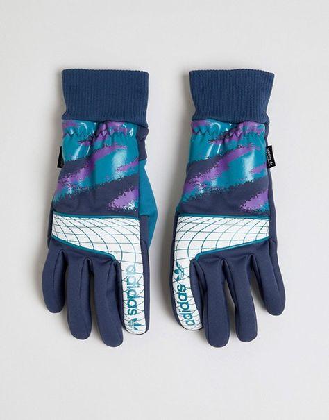 70da051cd4ef Adidas Skateboarding Goalie Gloves in Blue