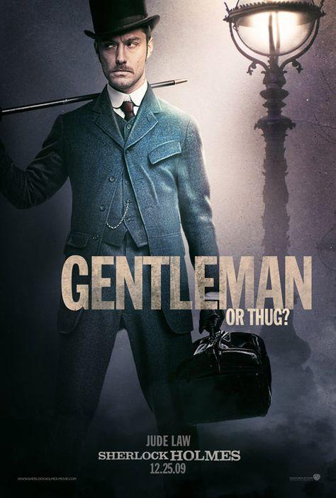 """Sherlock Holmes""  (Watson) U.S. advance poster - design by Scott Woolston"