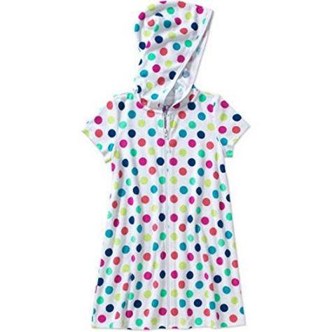 OP Girls Zip-Up Terry Swimwear Cover Up