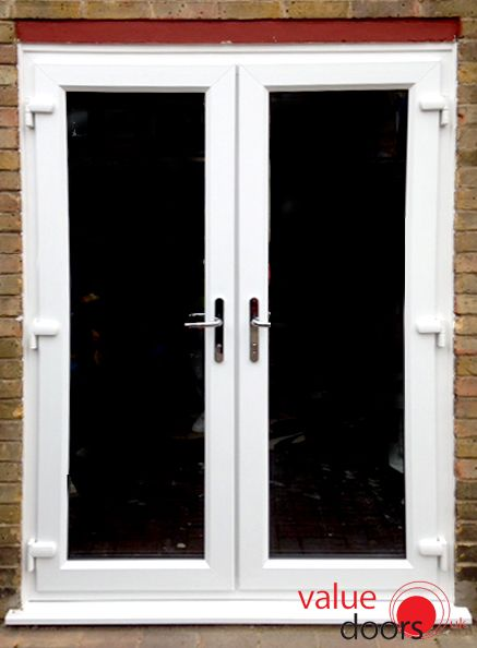 Our Upvc French Doors Look Great In White White Door Pinterest