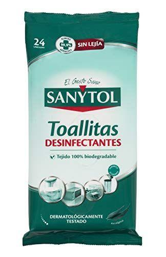 Sanytol Toallitas Desinfectantes Multiuso 24 Unidades Sanytol