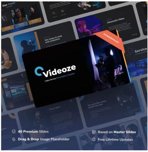 Videoze - Video Service Power Point Presentation