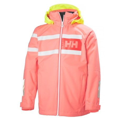 san francisco saada uutta pistorasia Helly Hansen Jr. Salt Power Jacket - Waterproof (For Big ...