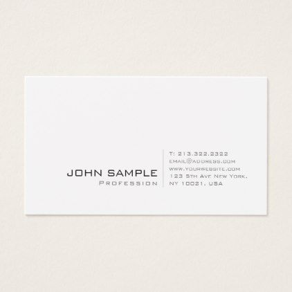 Create your own modern professional elegant simple business card create your own modern professional elegant simple business card simple business cards reheart Gallery