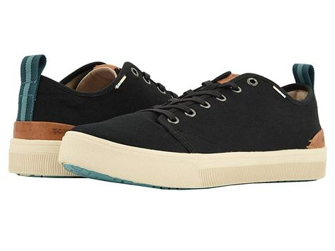 c7afb403d55 TOMS TRVL LITE Low (Black Canvas) Men s Lace up casual Shoes. With every  pair of shoes you purchase TOMS will give a new pair of shoes to a child in  need.