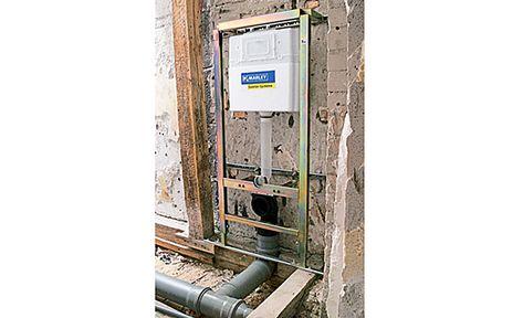 Abwasserrohr Verlegen Entwasserung Rohre Und Wasserleitung