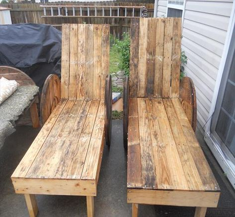 DIY Pallet #Outdoor #Lounge #Chairs - Made to Last!! | 99 #Pallets