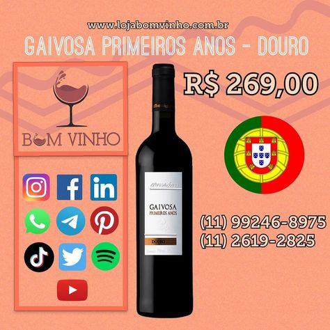 @lojabomvinho #vinhos #vinhotinto #vinhosespanhoes #vinhosbrasileiros #espumantes #vinhoemcasa #emcasa #secuida #emfamilia #parabebercomamigos #vinhobranco #vinhoverde #lojabomvinho #lojabomvinhofarialima @lojabomvinho