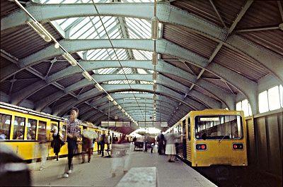 Bahnhof Dimitroffstrasse 1985 U Bahn Berlin Ubahn Deutsche Digitale Bibliothek