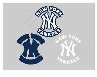 New York Yankees Svg Etsy Yankees New York Yankees New York