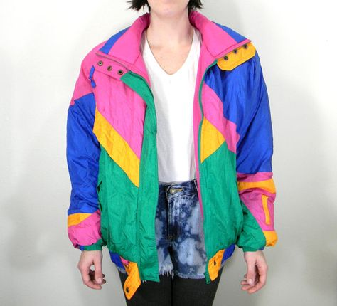 80s Poppin' Colors Vintage Funky Fresh Women's by EyebrowMustache, $28.00