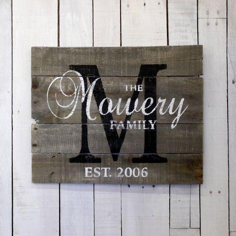 Benutzerdefinierte Holz-Schild Paletten von EverydayCreationsJen