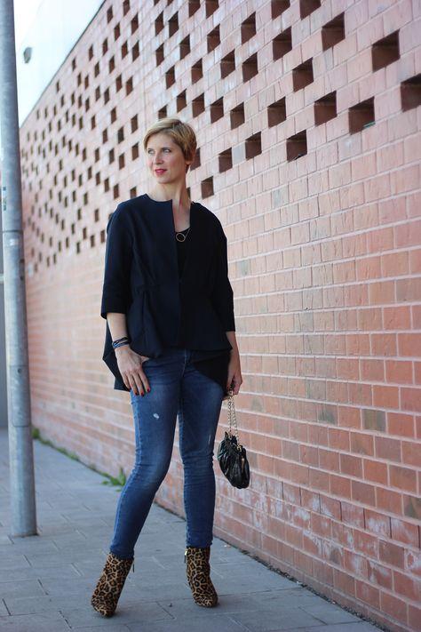 Jeans, Shirt, Blazer - magisches Modedreieck - Party