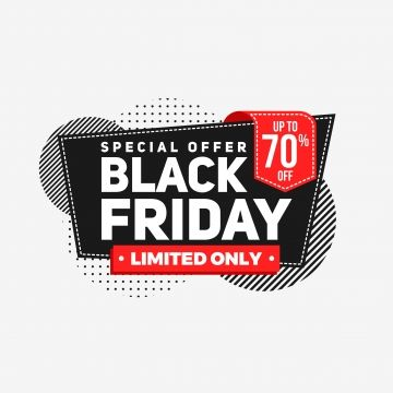 Black Friday Sale Banner Abstract Background Business Red Sale