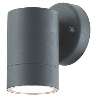 Lap Charcoal Grey Outdoor Wall Light 5 3w In 2020 Outdoor Wall Lighting Wall Lights Outdoor Walls