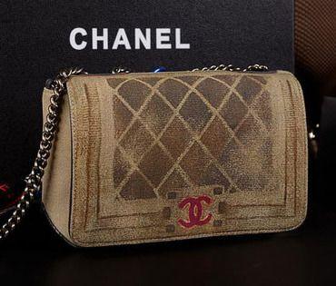 332fc31592 Wholesale Réplique Boy Sac Chanel Flap toile peinte A61680 Gris - €186.28 :  réplique sac a main, sac a main pas cher, sac de marque | Chanel boy bag ...