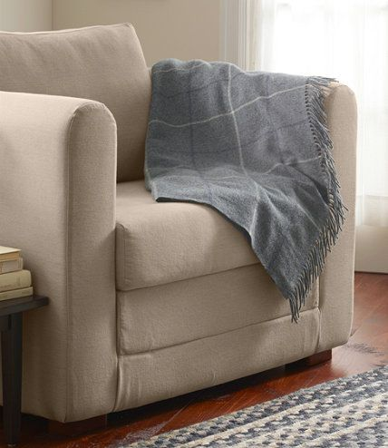 Bean S Washable Wool Throw Plaid Throws Free Shipping At L