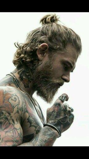 Men tattoo style