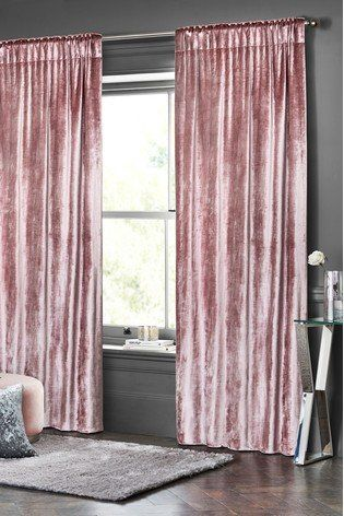 Summers Is All About Cool Hues And When It S About Home Luxury Speaks With Our Blush Velvet Curtains Velvet Curtains Bedroom Pink Velvet Curtains Curtains