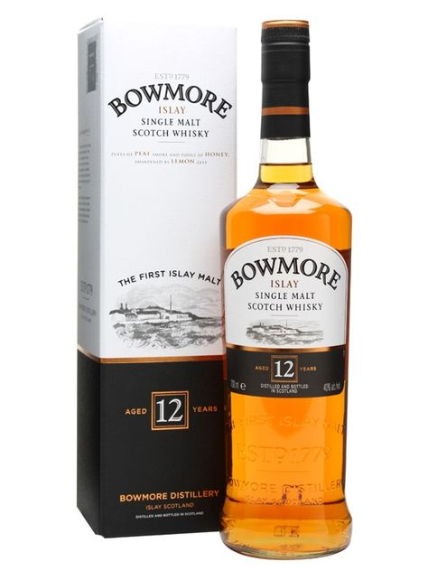 Bowmore 12 Year Old Scotch Whisky : The Whisky Exchange