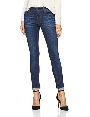 c0045e765c7f Versace Jeans Damen Hose Lady Trouser Blau (Indigo E904) 38 ...