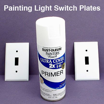 Old, Ugly Light Switch Covers? Spray Paint Them! | DIY Projects  Completed  | Pinterest | Switch Covers, Light Switches And Spray Painting.