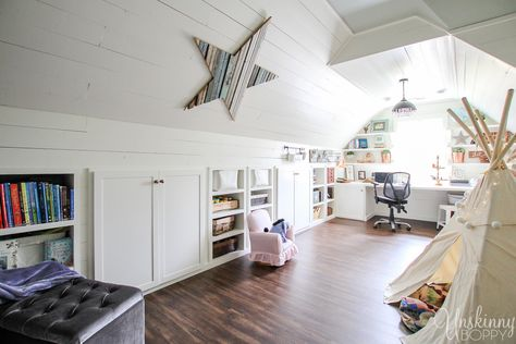 Amazing Attic Playroom Check Out This Amazing Attic Renovation