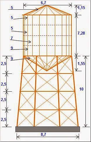 Tanque Y Torre Disenos De Unas Tanques Escaleras De Concreto