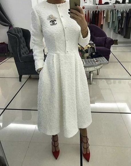 Dress White Hijab Beautiful 23 Best Ideas