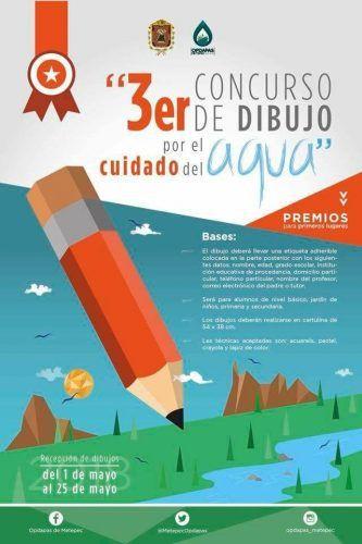 Abre Metepec Convocatoria Para Concurso De Dibujo Por El Cuidado Del Agua Concurso De Dibujo Cuidado Del Agua Convocatoria
