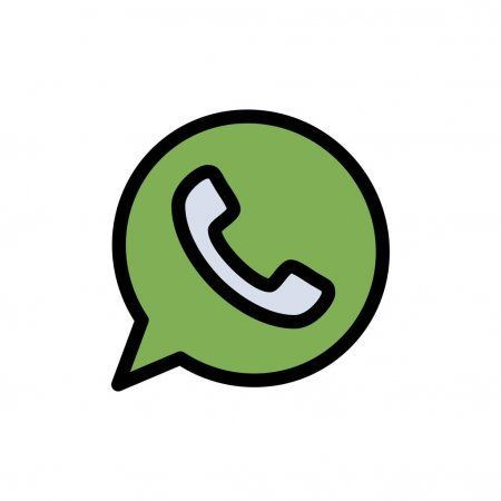 App Chat Telephone Watts App Flat Color Icon Vector Icon Ba Stock Sponsored Watts Flat Telephone App Ad Web Template Design Vector Icons App