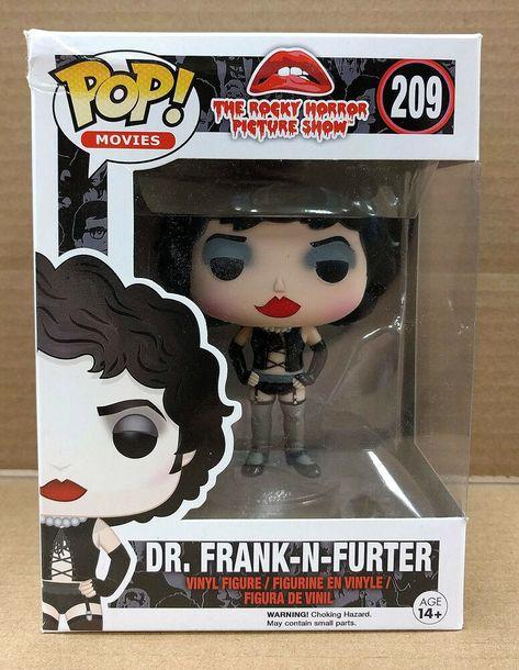 Dr Frank N Furter Rocky Horror Funko Pop Movies 209 Figure Nib